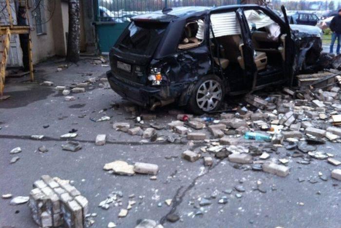 Авария в Питере (7 фото)