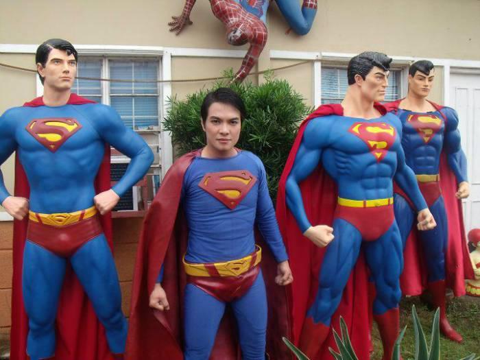 Превращение в Супермена (24 фото)