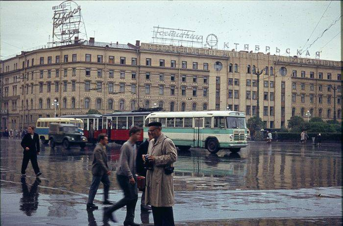 Ленинград глазами иностранного туриста (36 фото)