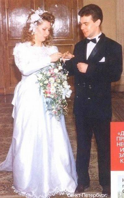 Свадебные фотографии известных политиков