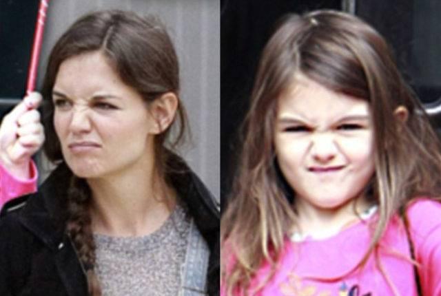 Знаменитые дети с манерами родителей (10 фото)