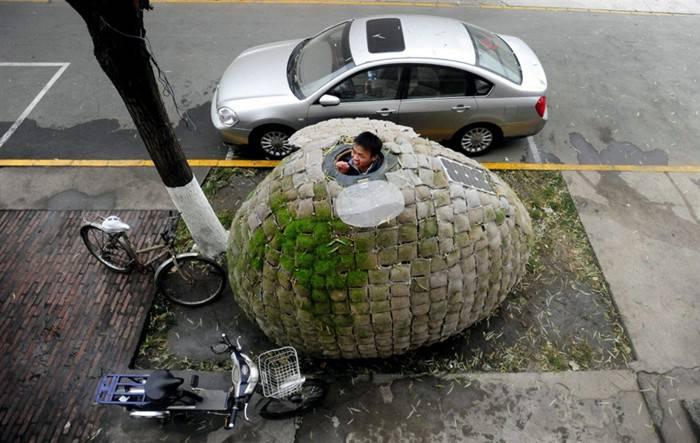 Дом в форме яйца (5 фото)