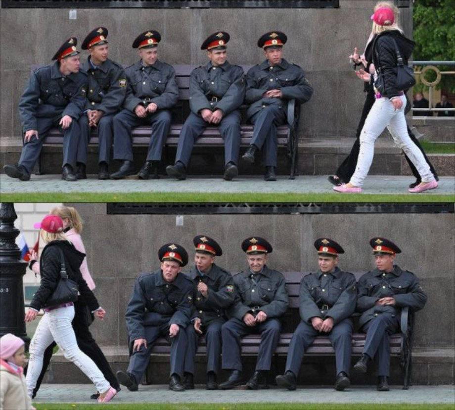 Мужчины пялятся на женсие прелести (43 фото) .