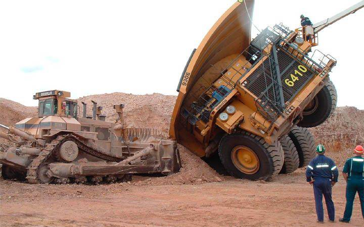 большие грузовики