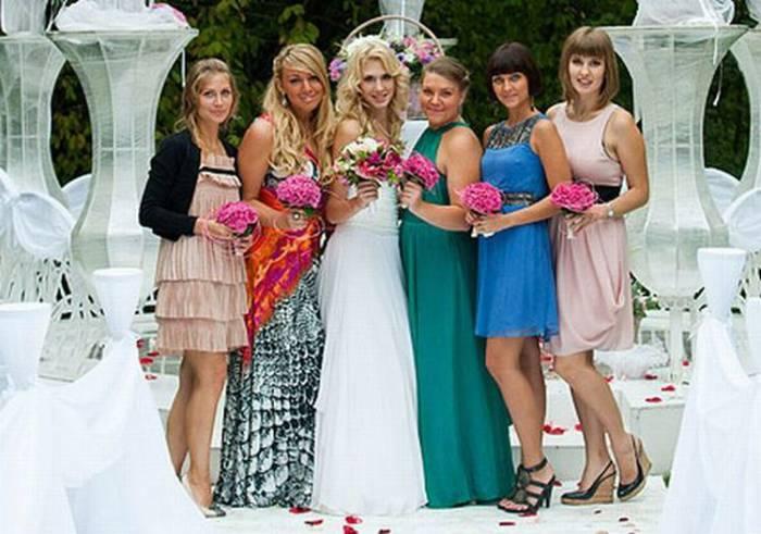 Русские и американские подружки невесты