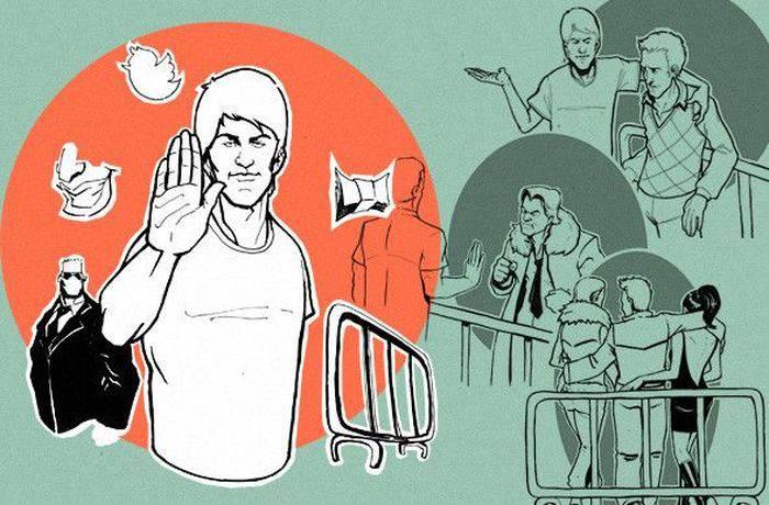 Фейсконтроль в клубах (11 фото)