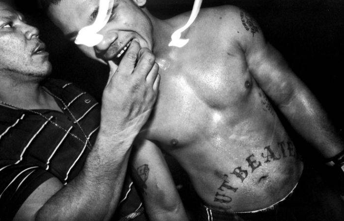 Запрещённые бои в Нью-Йорке (25 фото)