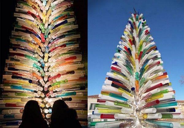 Самые необычные новогодние елки (11 фото)