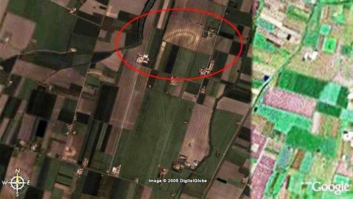 Открытия сделанные с помощью Google Earth (5 фото)