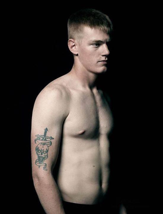 Татуировки американских солдат (13 фото)