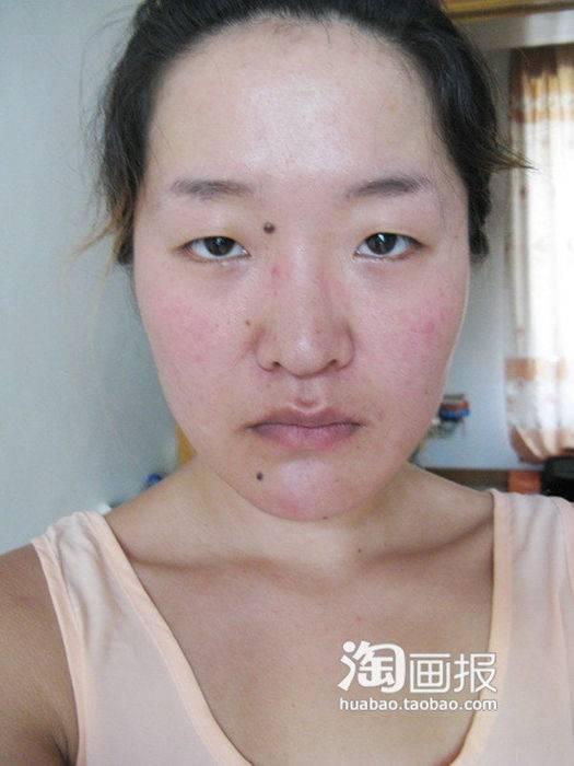Изменится с помощью макияжа (32 фото)