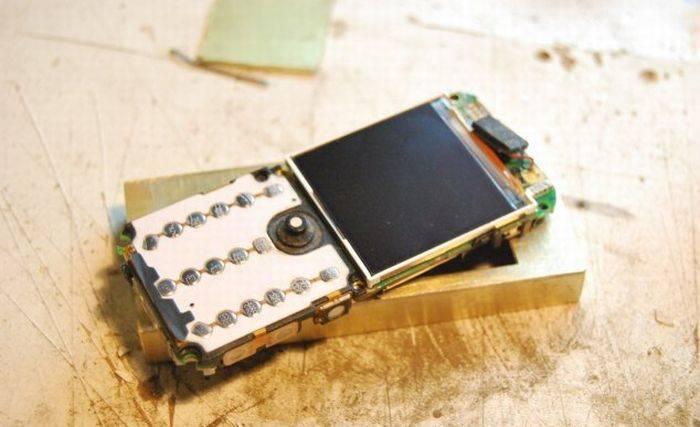 Стимпанк телефон (15 фото)