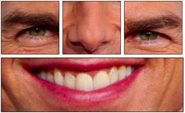 Забавные игры с лицами (46 фото)