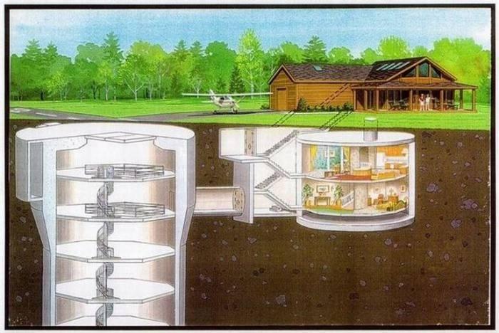 Дом-бункер за $750 тыс (17 фото)