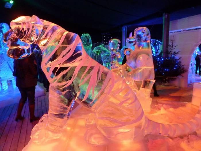Фестиваль ледяных скульптур в Брюгге (18 фото)