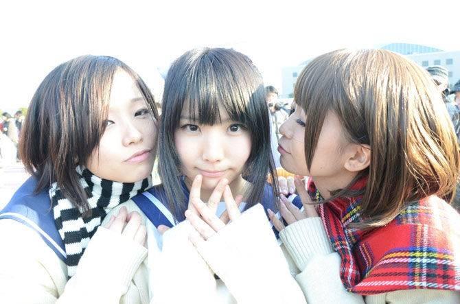 Японские костплейщицы (65 фото)