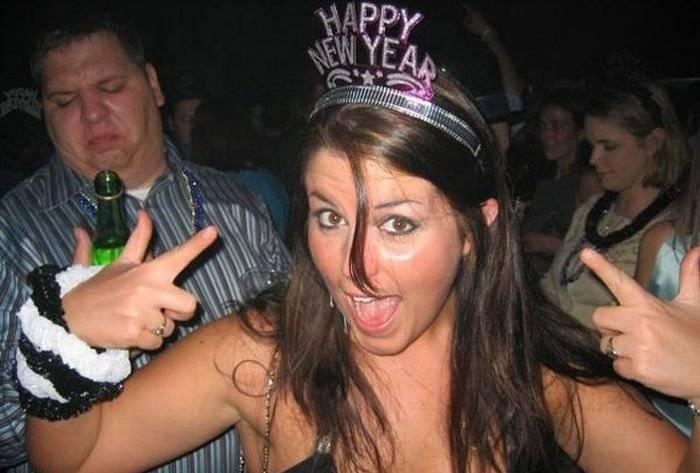 Как отрывались девушки на Новый Год