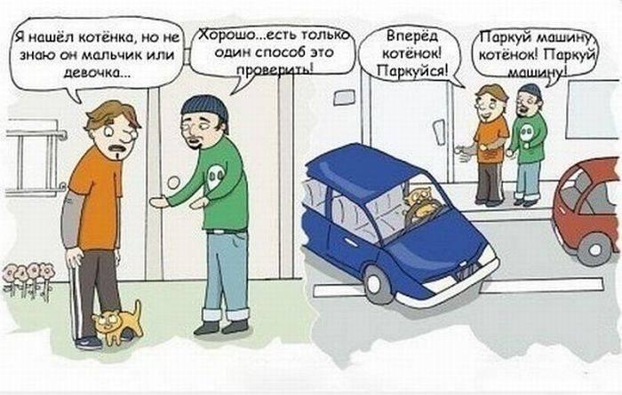 Подборка прикольных комиксов и карикатур
