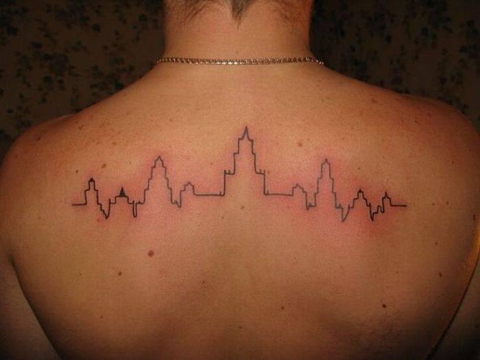 Татуировки поклонников репера Гуфа