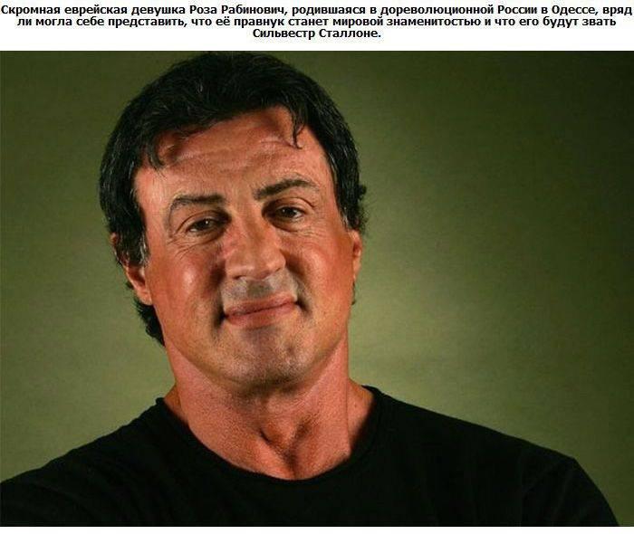 Знаменитости голливуда с русскими
