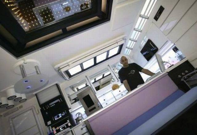 Квартира в стиле Стар Трек (21 фото)