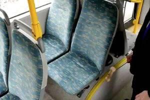 Чистое сидение в общественном транспорте