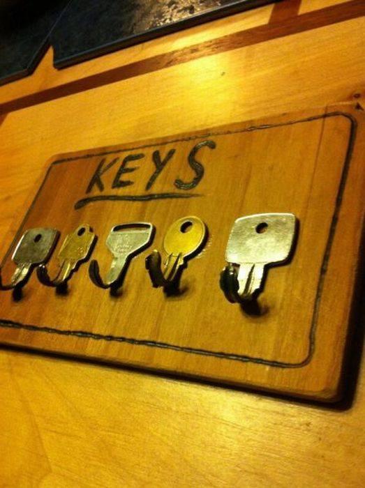 Оригинальная ключница своими руками