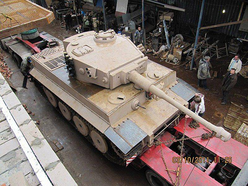 Макет танка своими руками фото