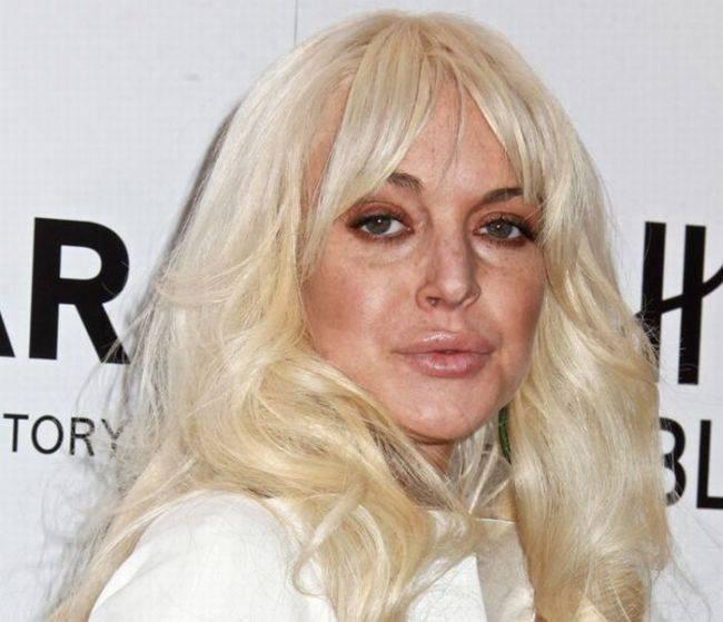 Что случилось с Линдси Лохан? (5 фото)