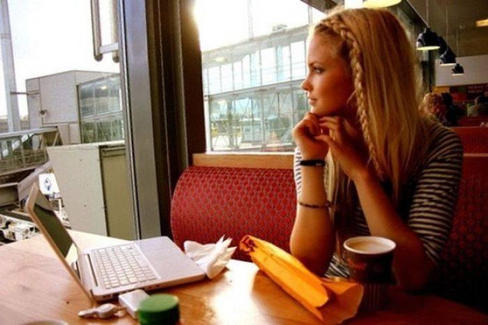 Милая норвежская блоггерша (43 фото)