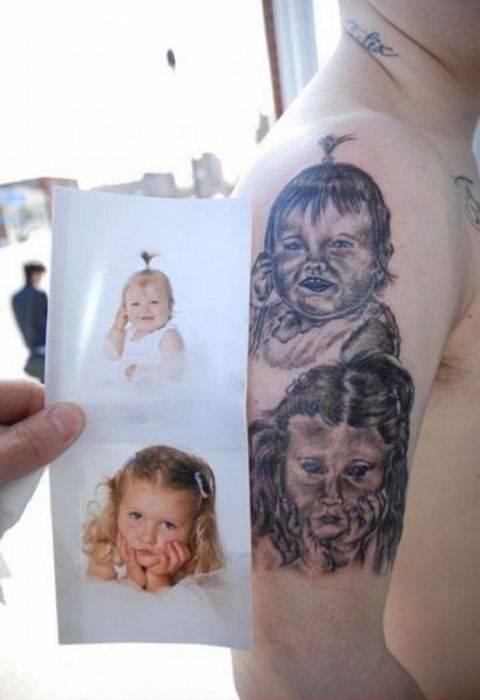 Самые дурацкие татуировки (41 фото)