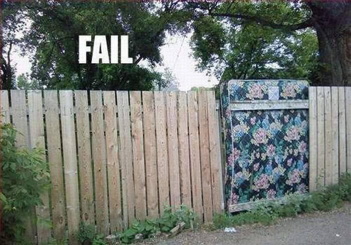 Для открыток, картинки забор смешные