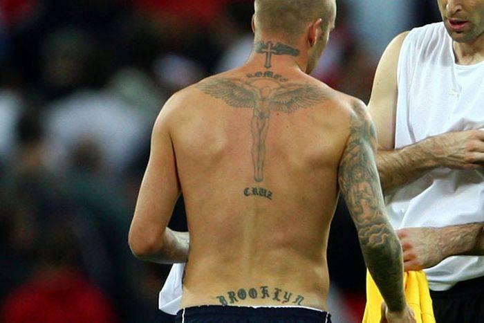 Татуировки известных спортсменов (20 фото)