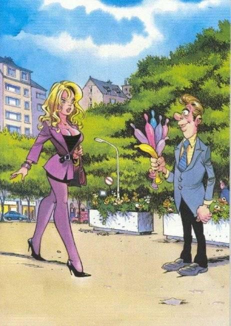 Пикантные комиксы для взрослых