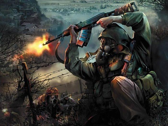 Подборка цифровых рисунков на тему войны