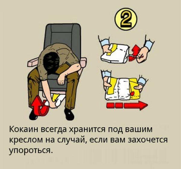 Забавное толкование правил поведения в самолете (18 картинок)