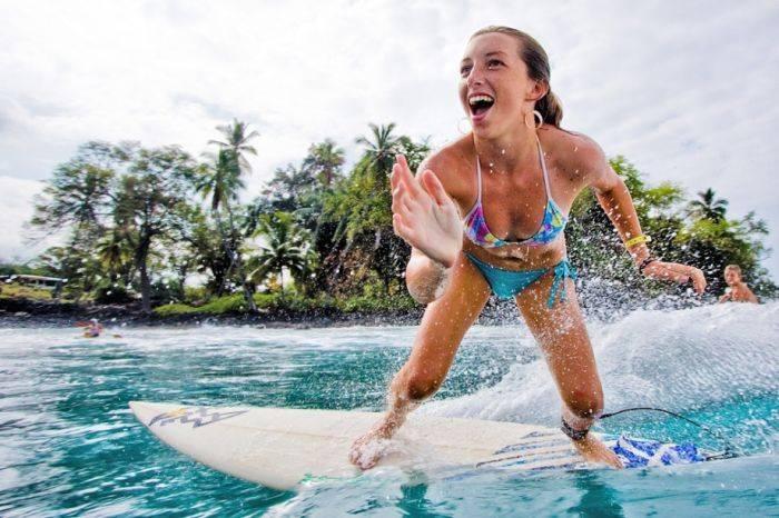 Очаровательные серфингистки (47 фото)