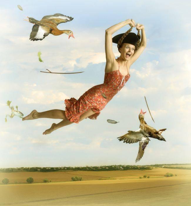 Картинки прикольные летим