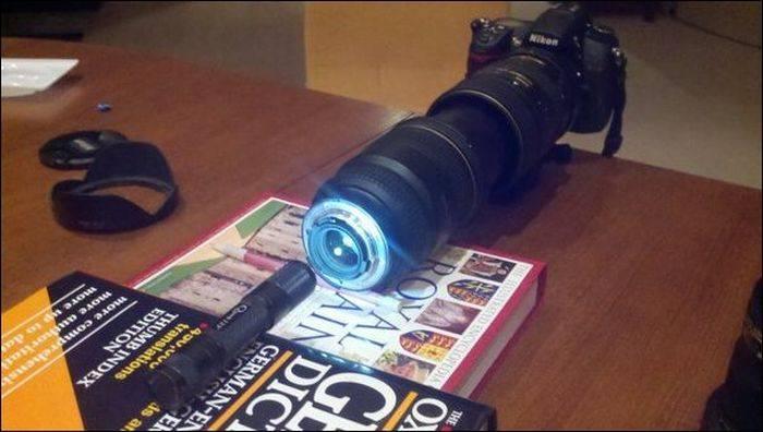 Как сделать микроскоп из фотоаппарата (7 фото)