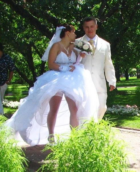 Свадебные фотографии смешные
