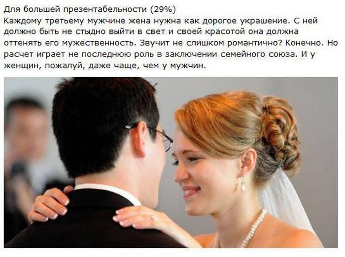 16 причин, по которым мужчины женятся (16 фото + текст)
