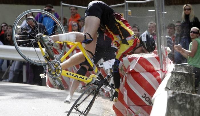 Неудачи на велосипедах
