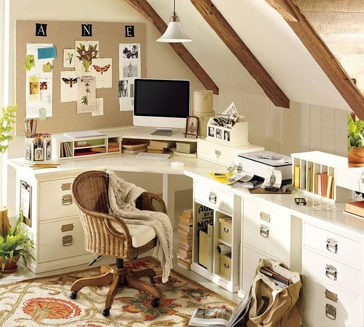 как насчет идеи по созданию домашнего офиса фото трески получаются
