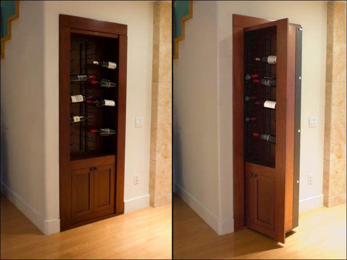 Как сделать секретную дверь