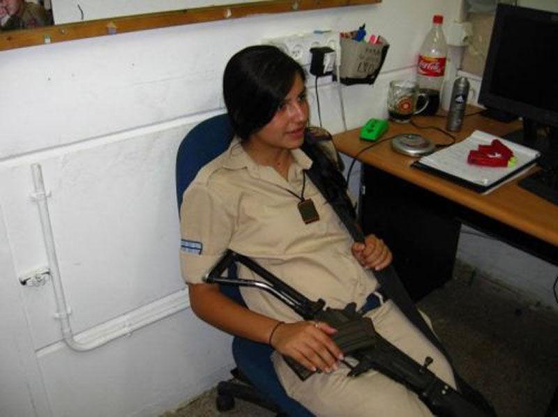 Девушки в армии Израиля (70 фото) .