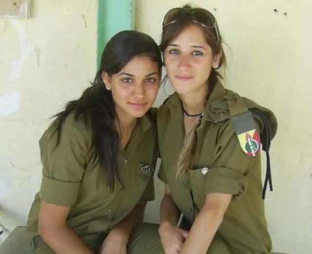 Девушки в армии израиля 70 фото