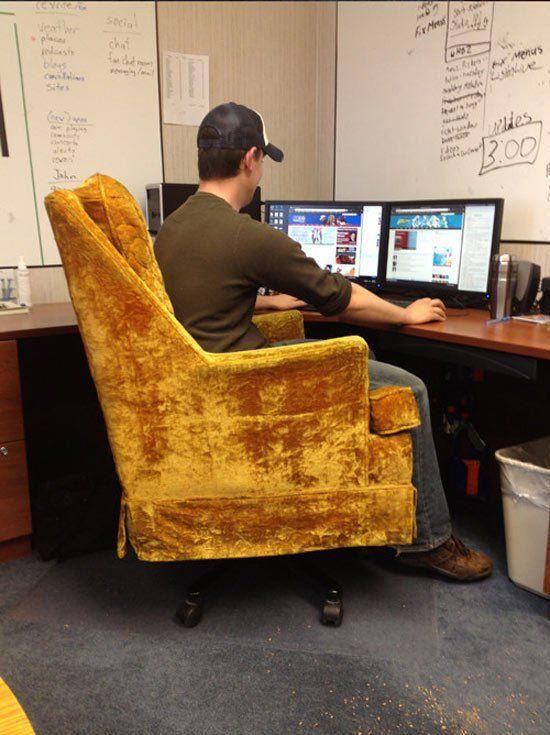 Как своими руками сделать компьютерный стул