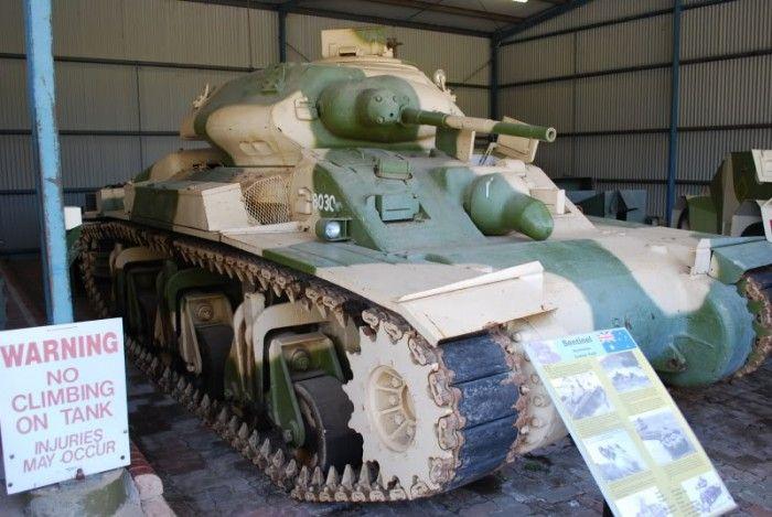 Австралийский крейсерский танк (3 фото)