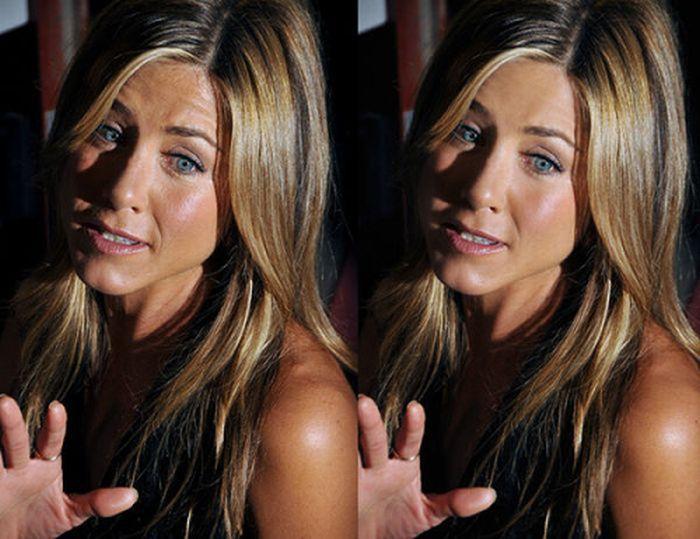 Знаменитости до и после фотошопа (25 фото)