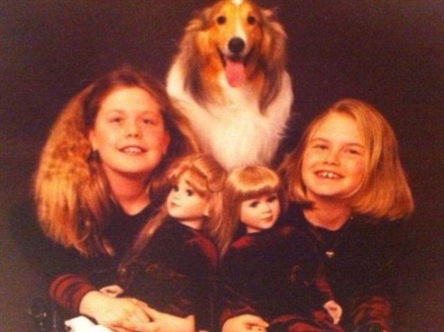 Смешные фото из семейного архива (26 фото)